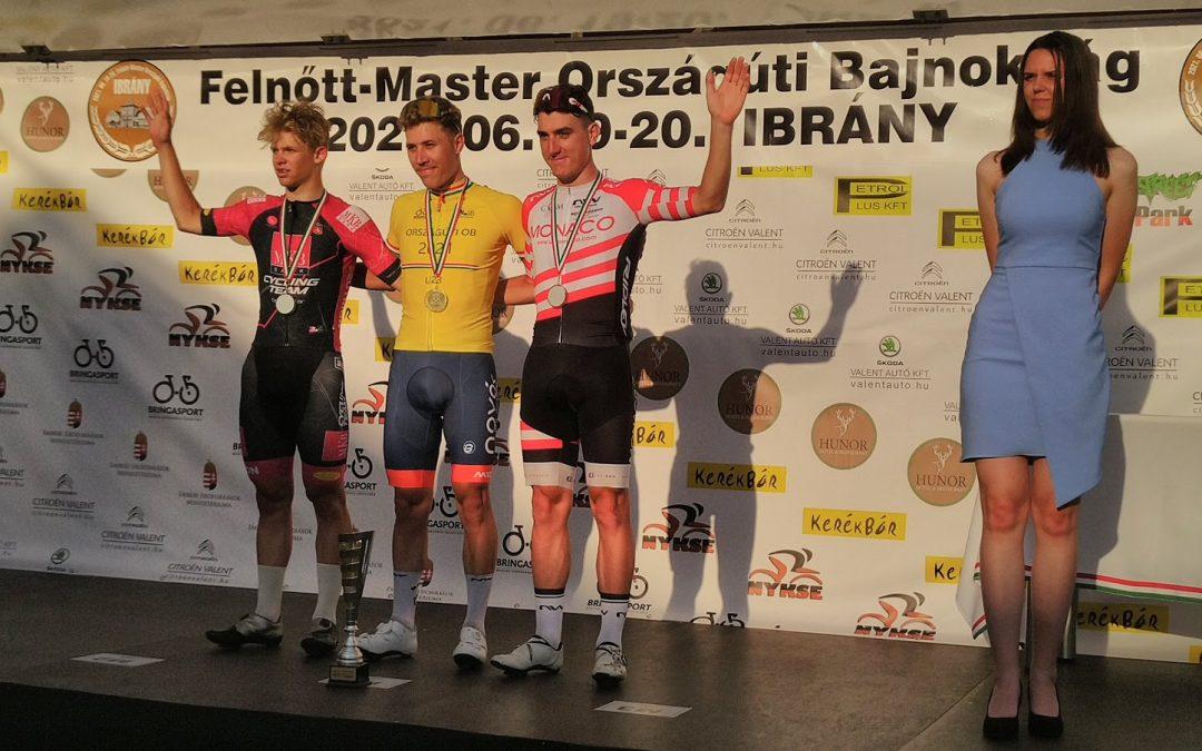 MKB Cycling Team: ezüstök az időfutam és a mezőny OB-n