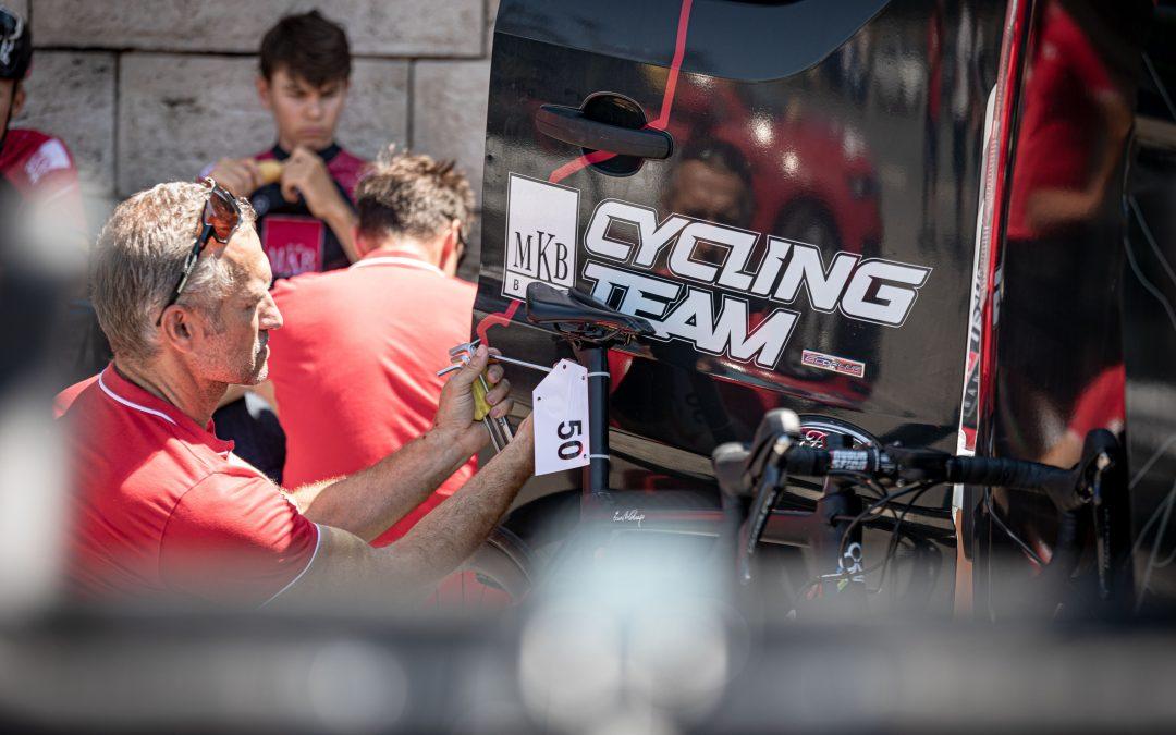 A V4 után újabb nemzetközi kerékpárversenyre készül az MKB Cycling Team